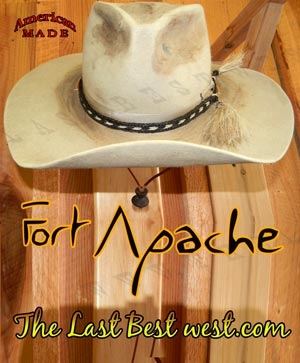2c203a3281c Fort Apache Cavalry Hat - The Last Best West