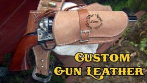 Old West Leather Holster