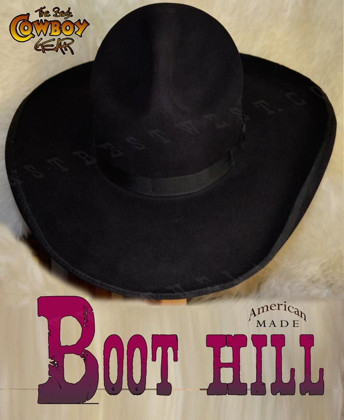 Boot Hill Old West Cowboy Hat - The Last Best West a121c5198c8