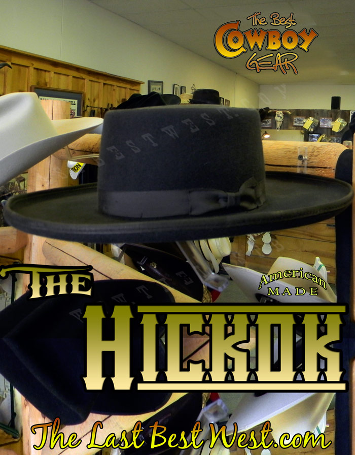 Hickok Old West Cowboy Hat