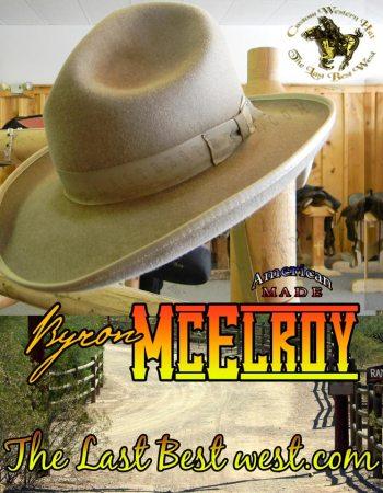 Byron McElroy Hat