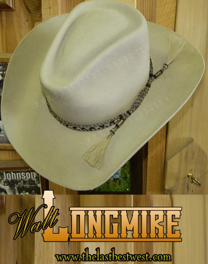 8ef56526450 Longmire Custom Handmade Hat - The Last Best West