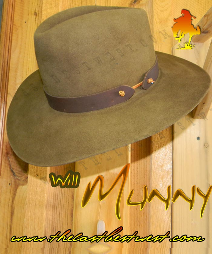 Will Munny Cowboy Hat