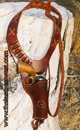Old West Shoulder Holster