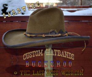 Hat bands for Cowboy Hats