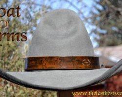 Coat of Arms Custom Hat Band