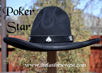 Poker Star Custom Hat Band