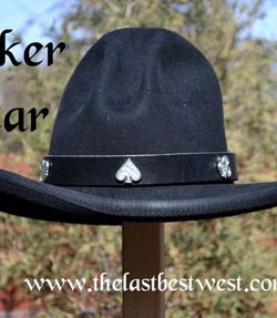 Poker Star Custom Hat Band