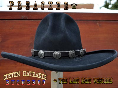 Preacher Custom Hat Band