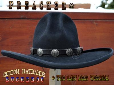 Preacher Custom Hat Band