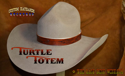 Turtle Totem Custom Hatband