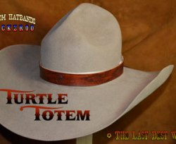 Turtle Totem Custom Hat Band