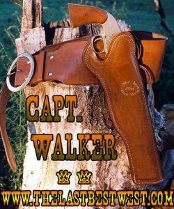 Captain Walker Leather Holster