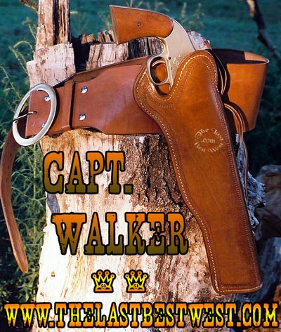 Captain Walker Leather Holster