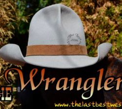 Wrangler Custom Hat Band