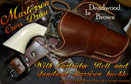 Masterson Holster and Gunbelt