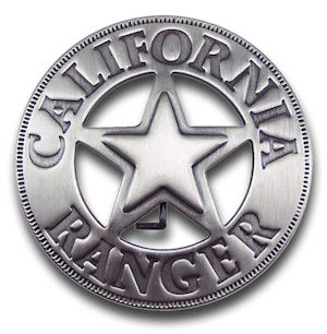 California Ranger Badge