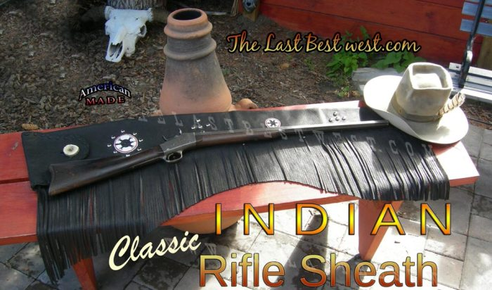 Classic Rifle Sheath