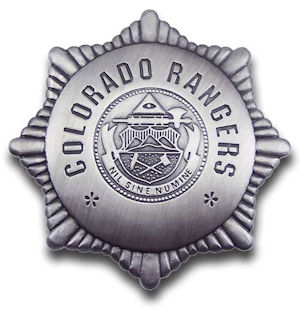 Colorado Rangers Badge