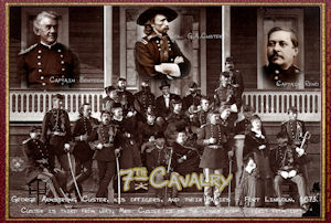 Custer and the 7th Cavalry Poster