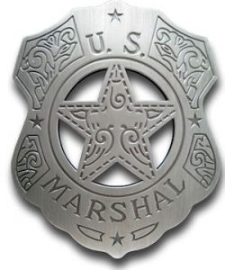 U.S. Marshal (Fancy) Badge