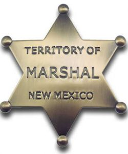 Marshal Territory of New Mexico Badge