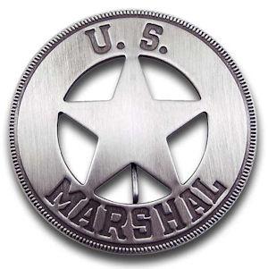 U.S. Marshal - Round Badge