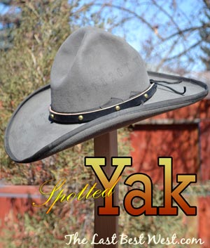 old west hat band