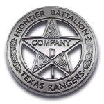 Texas Rangers Company D Badge