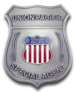 Union Pacific Special Agent Badge