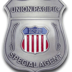 Old West Agent Badges