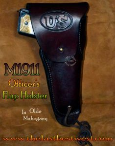 M1911 Officers Service Holster