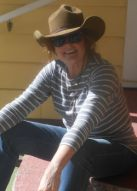 Deb in her Open Range Charley Hat