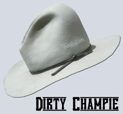 b9a00b9bb7b0e Old West Character Hat - The Last Best West