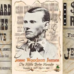 Jesse James 3 poster package