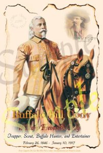 buffalo bill code history legends of the west posters