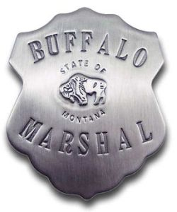 Buffalo Marshal Badge