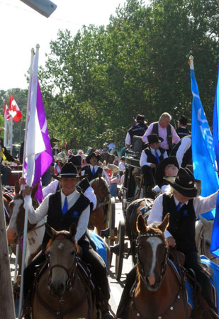 Calgary Stampede Parade Pictures The Last Best West