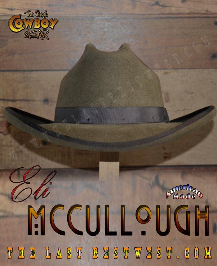 Eli McCullough Cowboy Hat