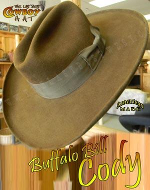 1b44ecc1033 Buffalo Bill Cody Cowboy Hat