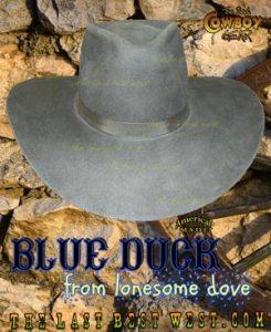 Blue Duck Cowboy Hat