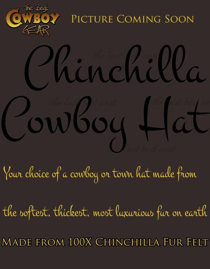 Chinchilla Cowboy Hat
