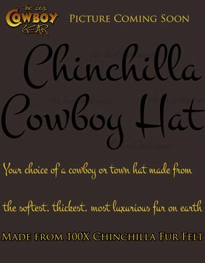 Chinchilla Cowboy Hat