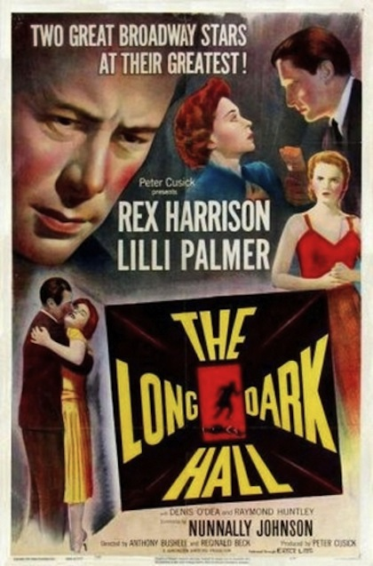 the long dark hall 1951 film poster