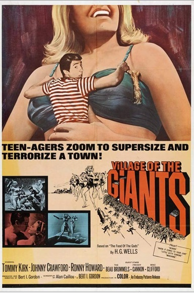 Village of the GIants film poster