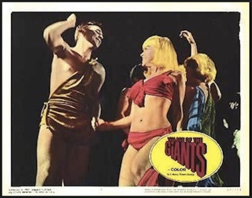 Village of The Giants lobby card