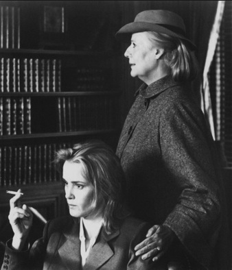 Kim Stanley and Jessica Lange in Francis