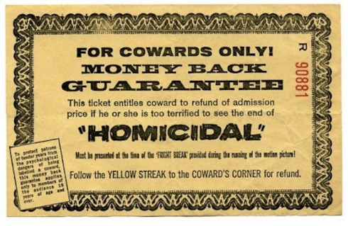 Cowards Corner ticket