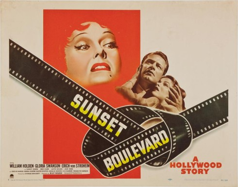 Sunset Blvd film poster