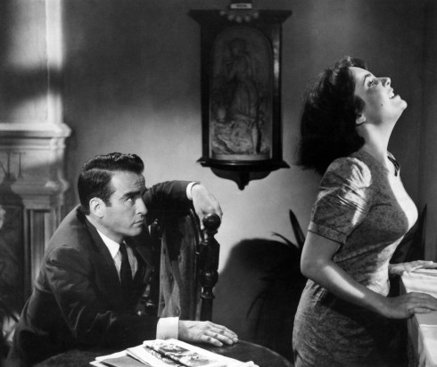 Monty Clift and Liz Taylor in Suddenly, Last Summer